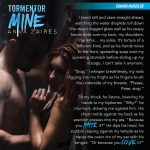 Tormentor Mine goes live tomorrow!