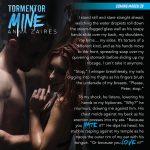 Tormentor Mine goes live tomorrow!